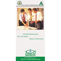 Broschüre gestalten für Firma Abaco