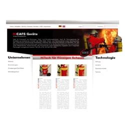 Homepage erstellen für Firma HNE AG