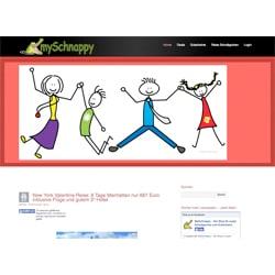 Website-Erstellung für myschnappy.de