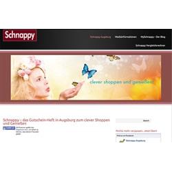 Website erstellt und Logo-Design für Schnappy.de
