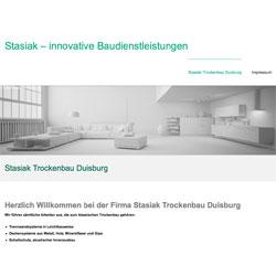 Homepage-Erstellung für Firma Stasiak