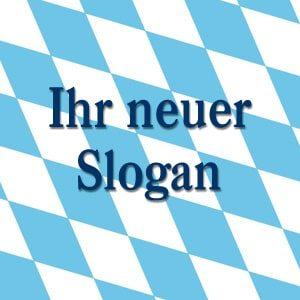 Slogan-Entwicklung professionell günstig Bayernlogo.de