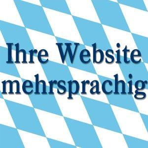 mehrsprachige Webseite