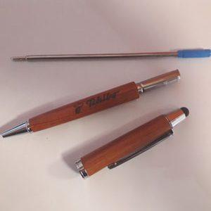 Kugelschreiber Rosenholz Gravur Teile